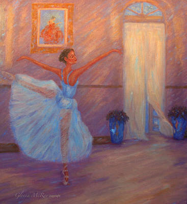 Dancing To The Light Art Print by Glenna McRae