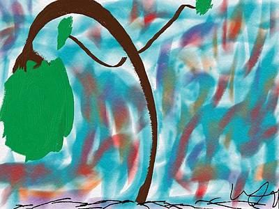Water Droplets Sharon Johnstone - Dancing Tree by Bill Minkowitz