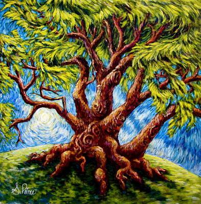 Painting - Dancing Tree by Sebastian Pierre