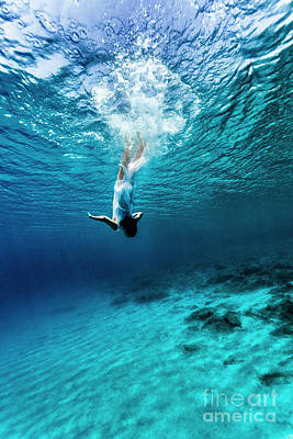 Photograph - Dancing Underwater by Anna Om