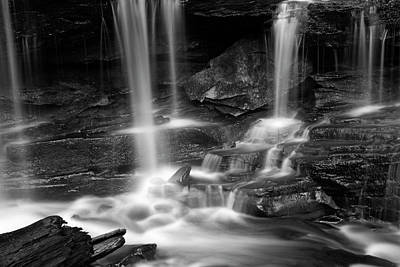 Photograph - Dancing Waterfall by John Stephens