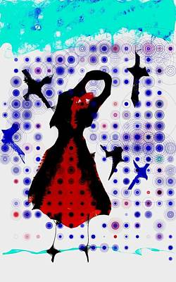 Art Print featuring the photograph Dancing With The Birds by Jessica Shelton