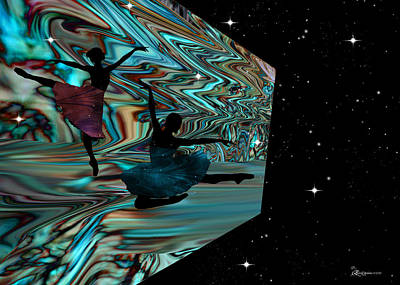 Digital Art - Dancing With The Stars-featured In Harmony And Happiness Group by Ericamaxine Price