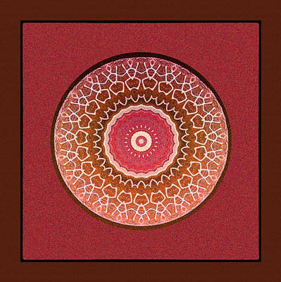 Digital Art - Dancing Women Mandala  by Kandy Hurley