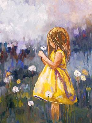 Painting - Dandelion by Brandi  Hickman