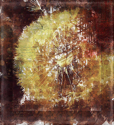 Dandelion Digital Art - Dandelion Wild Life by Yury Malkov