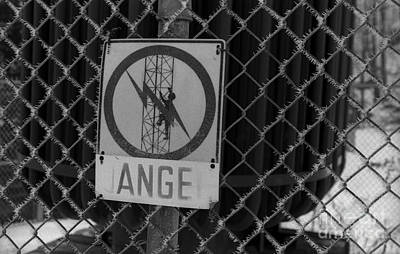Danger Or Angel Art Print by Andre Paquin