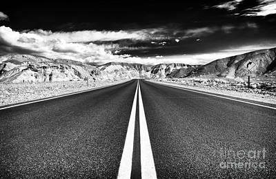Photograph - Danger Road by John Rizzuto