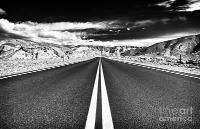 Photograph - Danger Road by John Rizzuto