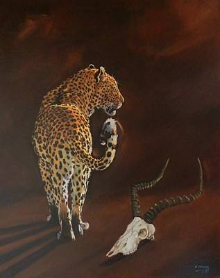 Painting - Dangerous Beauty by Robert Teeling