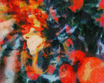 Art Print featuring the painting Dangerous Passion by Joe Misrasi
