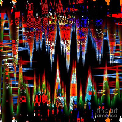 Dangerous Pulse Art Print by Ashantaey Sunny-Fay