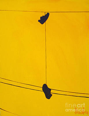Power Painting - Dangling Souls by Michael Ciccotello