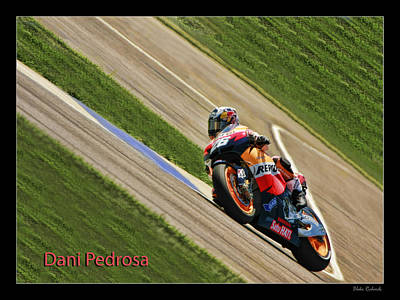 Photograph - Dani Pedrosa by Blake Richards