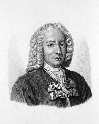 Daniel Photograph - Daniel Bernoulli by National Library Of Medicine