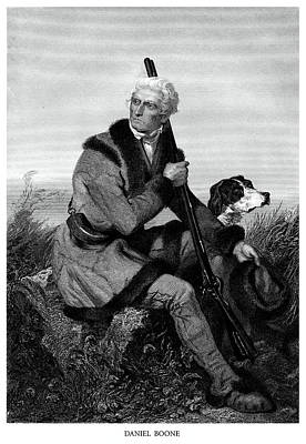 American Revolution Painting - Daniel Boone by Historic Image