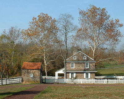 Photograph - Daniel Boone Homestead by David Nichols