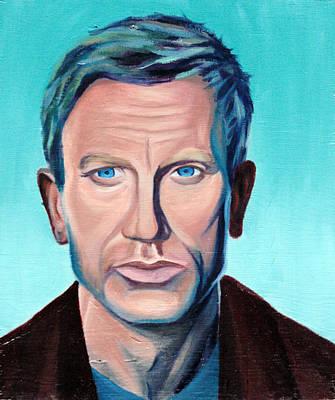 Daniel Craig Original by Adam Campbell