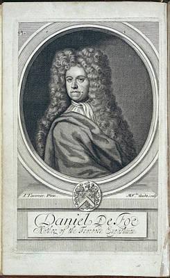 Daniel Defoe Art Print by British Library
