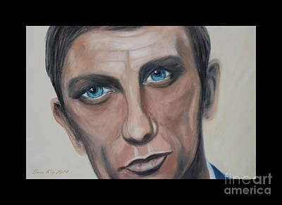 Painting -  Daniel.incredibly Talented Man by Oksana Semenchenko