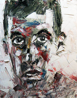 Painting - Daniel by Jim Vance