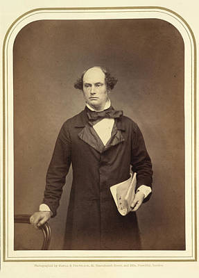 Painter Photograph - Daniel Maclise Esq. R.a by British Library