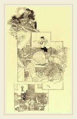 Daniel Vierge, On The Trail Of Don Quixote Art Print