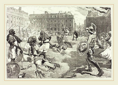 Daniel Vierge Spanish, 1851-1904 Art Print by Litz Collection