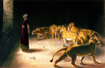 Briton Painting - Daniel's Answer To The King by Celestial Images