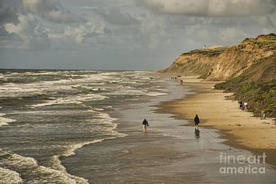 Danish Beach In North Jutland Art Print