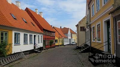 Danish Village Art Print by Susanne Baumann