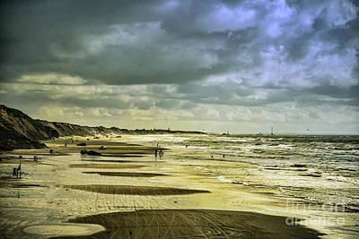 Danish West Coast Beach Art Print