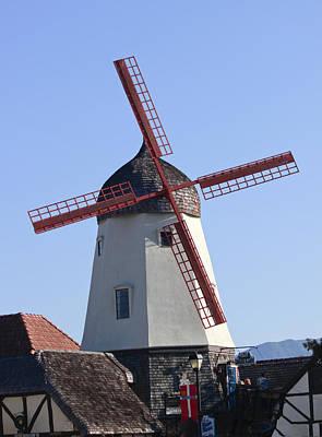 Danish Windmill Art Print by Ivete Basso Photography