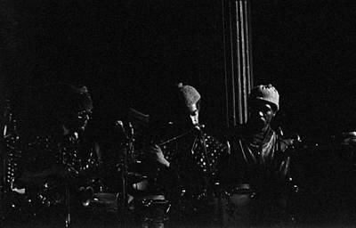Sun Ra Arkestra Photograph - Danny Davis Plays Flute by Lee  Santa
