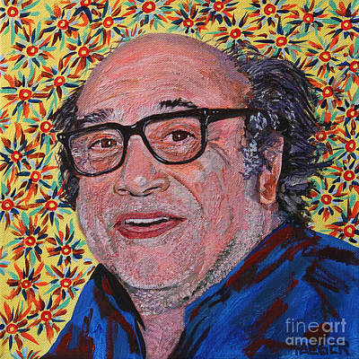 Cuckoo Painting - Danny Devito Portrait by Robert Yaeger