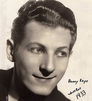 Photograph - Danny Kaye At White Roe Lake Hotel 1933 by Ericamaxine Price