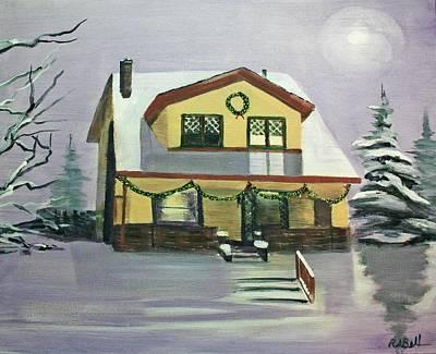 Dan's House Art Print by Randy Bell