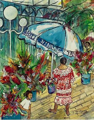 Painting - Dans La Matinee by Elaine Elliott