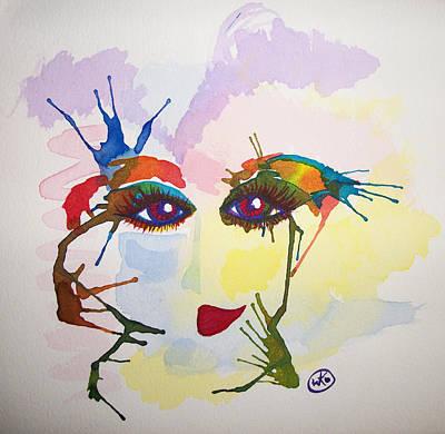 Painting - Danseuse by Kiki Art