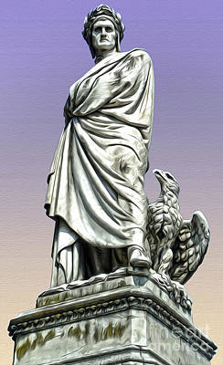Painting - Dante Alighieri by Gregory Dyer