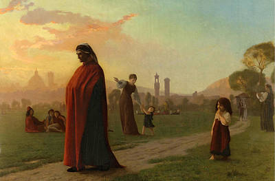 Jean-leon Gerome Painting - Dante. He Hath Seen Hell by Jean-Leon Gerome