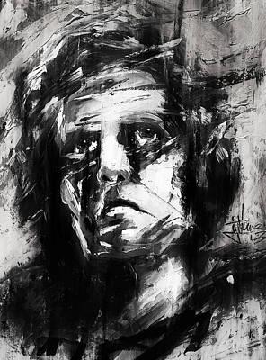 Mixed Media - Dante Portrait by Jim Vance