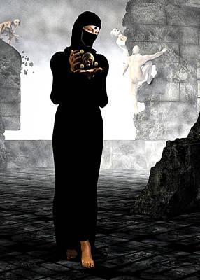 Surrealism Digital Art - Dantes Dream  by Bob Orsillo
