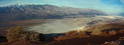 Dante's View Panorama Art Print by David Salter