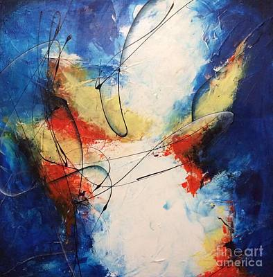 Abstract Painting - Danza De Medianoche by Bradley Carter