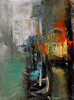 Painting - Danzig by David Figielek