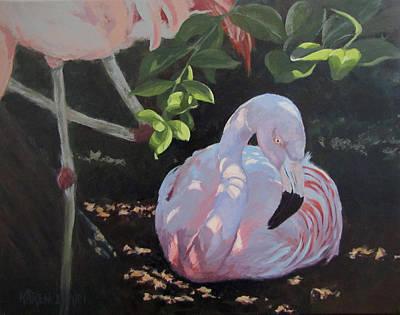 Painting - Dappled And Drowsy by Karen Ilari