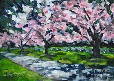 Dappled In The Park Original by Lori Pittenger