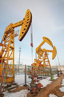 Oil Field Photograph - Daqing Oil Field by Ashley Cooper