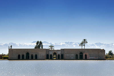 Photograph - Dar El Hana Pavilion Marrakech  by Mick House